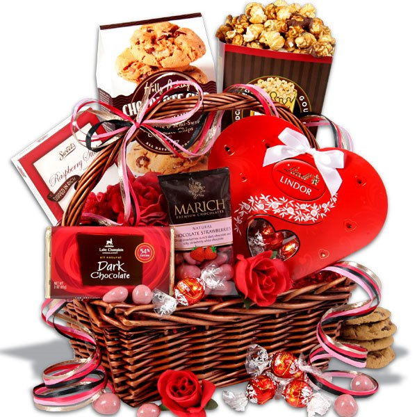 Valentine S Day Gift Basket Canada And Usa Threewhitedoves